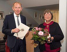 Harm-Uwe Weber und Theda Ahlrichs
