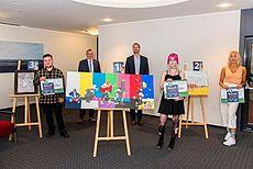 Bild der Teilnehmer am Kunstpreis