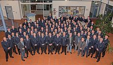 Gruppenfoto der beteiligten Feuerwehrleute