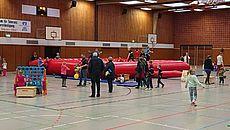 Bild aus einer Sporthalle