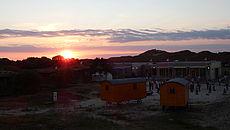 Sonnenuntergang über Norderney