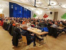 Bild aus der Betriebsversammlung