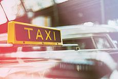 Stockfoto mit Taxi