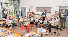 Gruppenbild aus einer Schulklasse