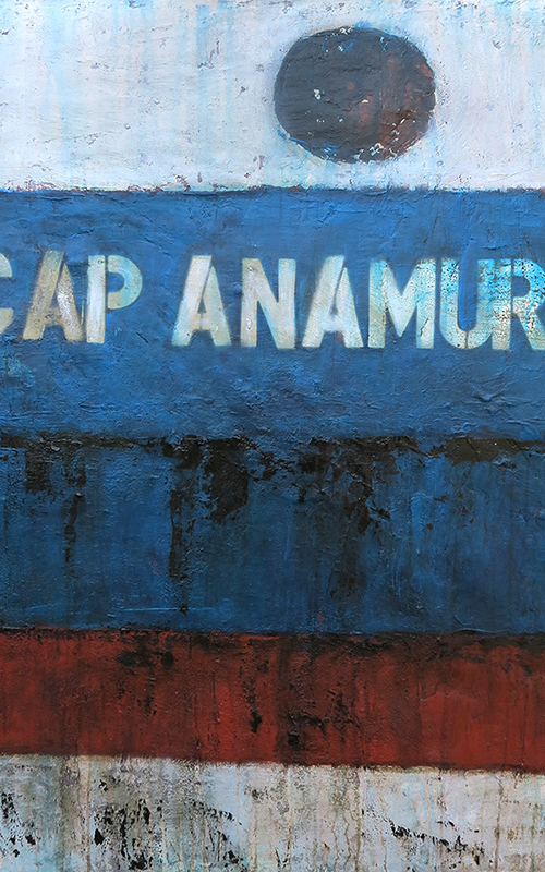 """Cap Anamur"" - Gina Sossna-Wunder"