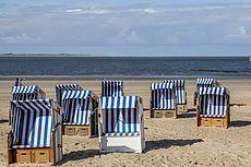 Bild vom Strand auf Norderney