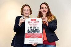 Frauke Jelden und Darinka Herrmann