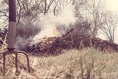 Symbolfoto eines Osterfeuers