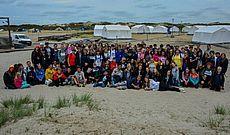 Bild von Teilnehmern der Zeltfreizeit