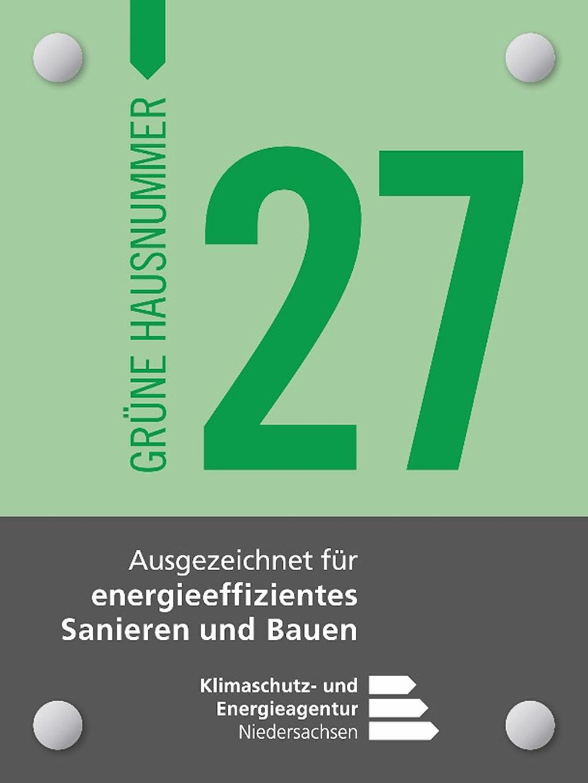 Beispielgrafik Grüne Hausnummer