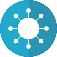 Bild eines Virus