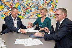 Andreas Epple, Heike-Maria Pilk und Olaf Meinen