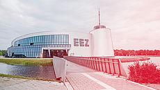 Außenaufnahme des EEZ in Aurich/Sandhorst
