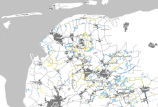 Karte des Landkreises mit Ausbaubereich