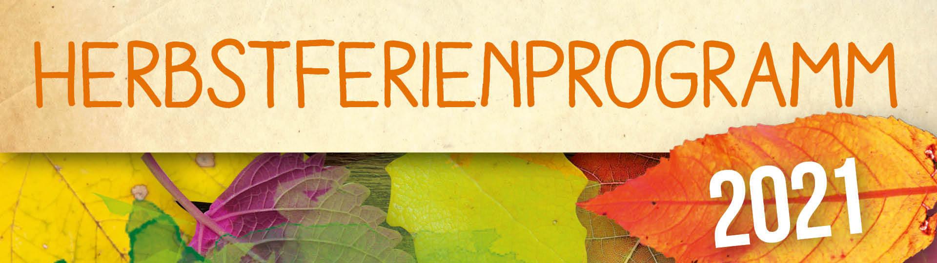 Headerbild für das Herbstferienprogramm der Naturschutzstation