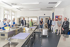 Bild der Küche in der KVHS