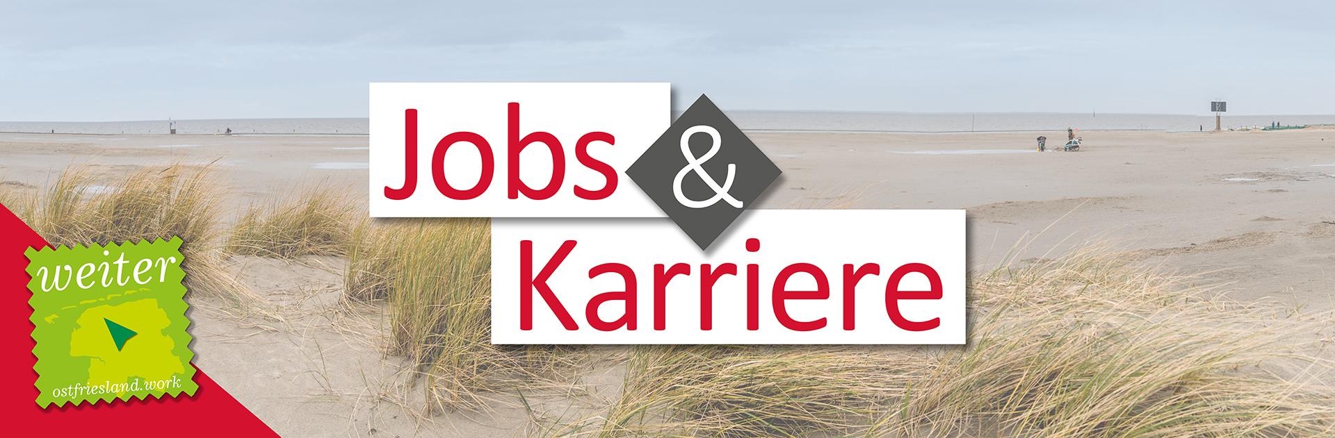 Dünen, Strand und Schrift: Jobs & Karriere